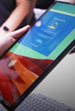 В изящном корпусе планшета Microsoft Surface Pro X спрятан ёмкий аккумулятор