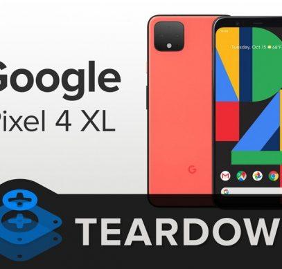 Изучена анатомия Pixel 4 XL: смартфон обладает посредственной ремонтопригодностью