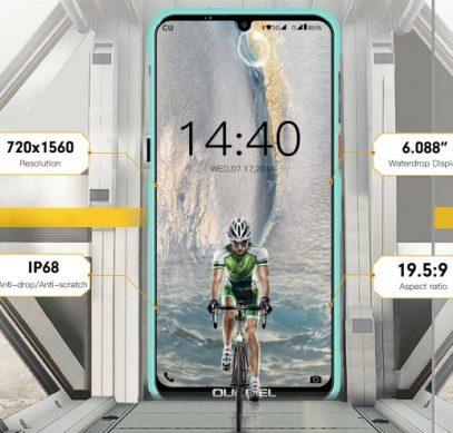 Экран Oukitel Y1000