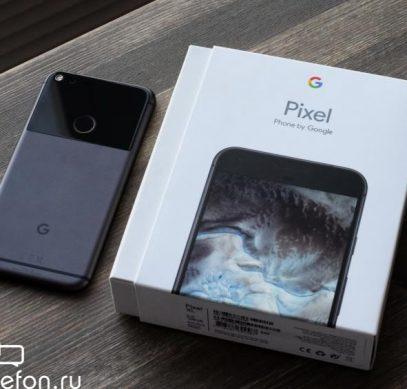 Обзор Google Pixel XL