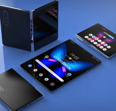 Samsung сделает стеклянный гибкий экран в новом смартфоне - 1