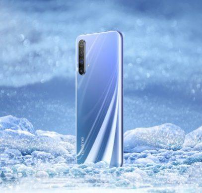 Realme X50 показали на официальном промо-изображении