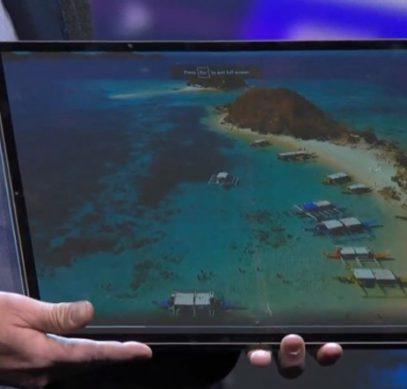 CES 2020: Intel Horseshoe Bend — планшет с большим гибким дисплеем