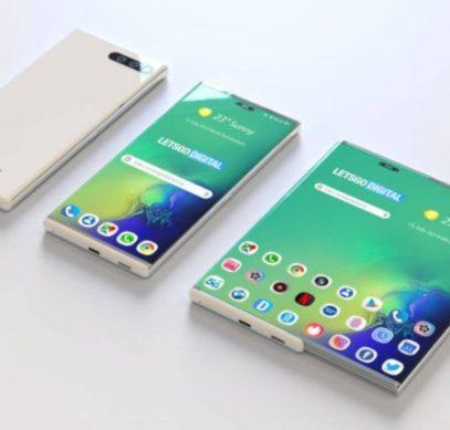 Samsung показала на CES 2020 новый складной смартфон - 1