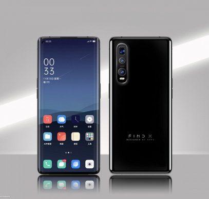 Никакого «космического» смартфона? На новом рендере Oppo Find X2 выглядит вполне обычным