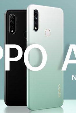 OPPO A31: смартфон-середнячок с тройной камерой и 6,5