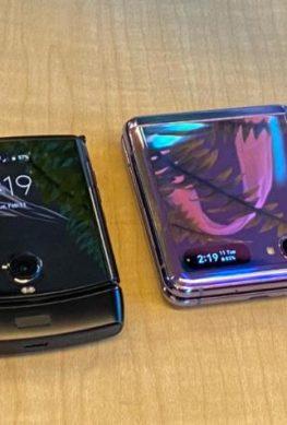 Samsung Galaxy Z Flip против Motorola Razr: дроп-тест смартфонов – фото 1