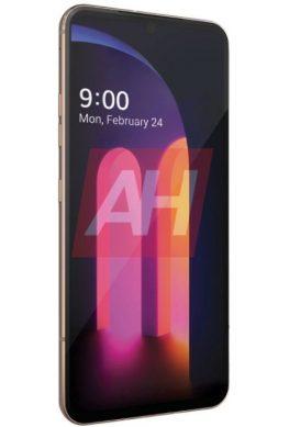 Смартфон LG V60 ThinQ показался на первом официальном рендере