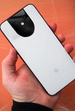 Опубликованы качественный рендер грядущего смартфона Google - 1