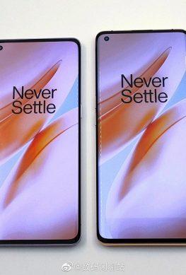 OnePlus 8 и OnePlus 8 Pro на качественных живых фото