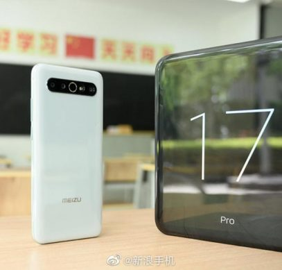 Живые фото и первый обзор Meizu 17 Pro на видео