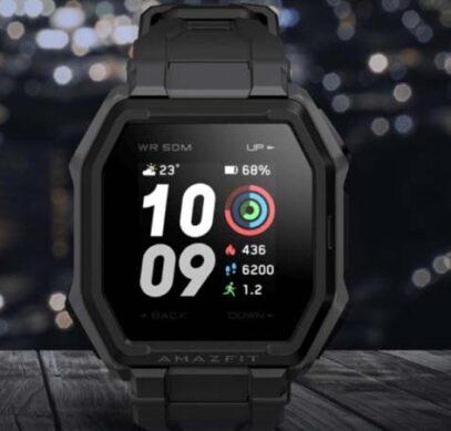Huami анонсировала защищенные фитнес-часы Amazfit Ares стоимостью $70