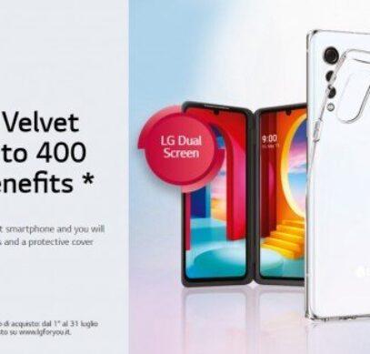 LG дарит второй дисплей, наушники и чехол стоимостью 400 евро покупателям LG Velvet 5G в Европе