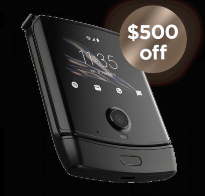 Складной смартфон Motorola Razr подешевел на $500