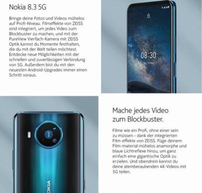 Nokia 8.3 5G: недешевый 5G-смартфон с квадрокамерой – фото 1