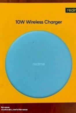 Так выглядит 30-долларовая беспроводная зарядка Realme