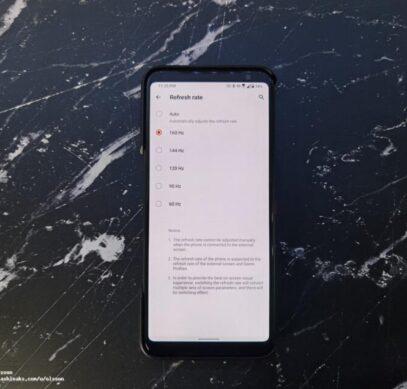Asus выпустила первый в мире смартфон со 160-герцевым экраном