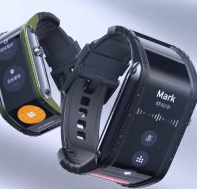 Уникальные часы Nubia Watch с огромным 4-дюймовым экраном порвали Kickstarter