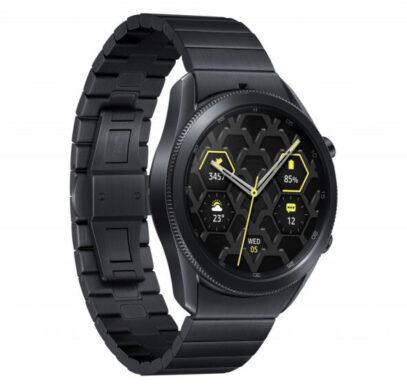 Представлены умные часы Samsung Galaxy Watch 3 Titanium и Galaxy Watch 3 Titanium PXG Edition