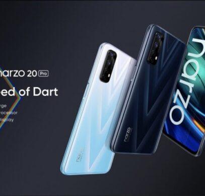 90 Гц, 65 Вт, 48 Мп и 4500 мА·ч за $200. Представлены смартфоны Realme Narzo 20A, 20 и 20 Pro
