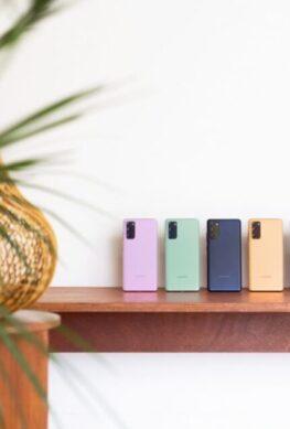 Представлен смартфон Samsung Galaxy S20 FE