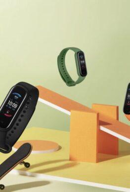 Сильный конкурент Xiaomi Mi Band 5. В России вышел фитнес-браслет Amazfit Band 5