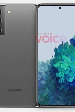 Спорный дизайн Samsung Galaxy S21 в первый раз на рендерах