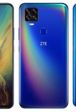 Представлен телефон ZTE V2020 5G с микропроцессором Dimensity 800 и огромным экраном Full HD+ стоимостью $210