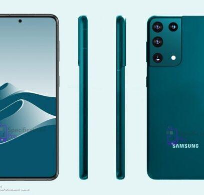 Samsung Galaxy S21 Ultra показали на новых рендерах - 1