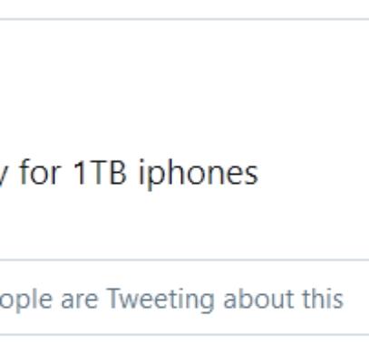 prosser 1 TB iPhone 13