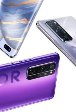 Раскрыты характеристики грядущего флагманского телефона Honor View 40 - 1