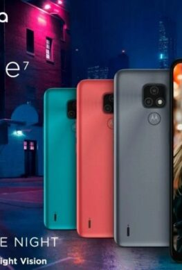 Представлен недорогой телефон Motorola Moto E7 - 1