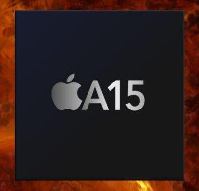 Процессор Apple A15 для нового iPhone впервые продемонстрировала свою производительность