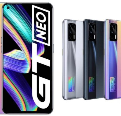 Super AMOLED, Dimensity 1200, 120 Гц, NFC, 4500 мА•ч, 50 Вт и 5G за $275 долларов. Смартфон Realme GT Neo поступает в продажу