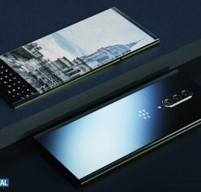 Так выглядит абсолютно новый BlackBerry с клавиатурой. Появились качественные изображения и видео
