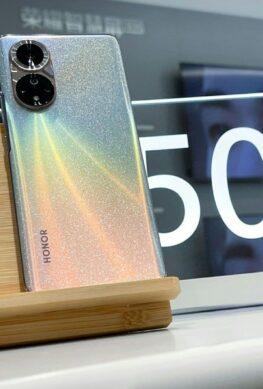 Живые фотография и видео Honor 50 (Pro) во всех цветах