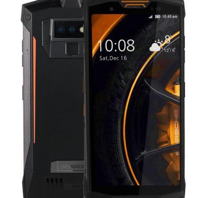 Анонс Doogee S80: защищённый смартфон с батареей 10 080 мАч и NFC