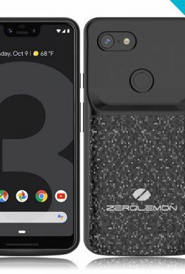 Чехлы ZeroLemon помогут увеличить не самую выдающуюся автономность смартфонов Google Pixel 3 и Pixel 3 XL
