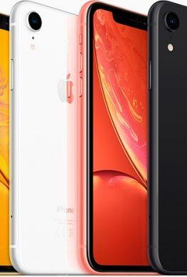 Разнообразие цветов не помогло продажам iPhone XR