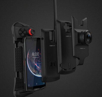 Опубликован официальный рендер Doogee S90 - первого защищенного модульного смартфона