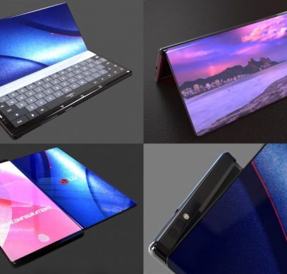 LG показала необычную версию гибкого смартфона