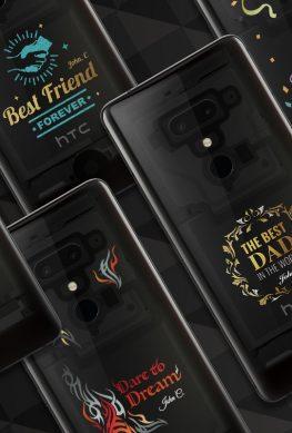 HTC предложила кастомные U12+ с рисунками на задней панели