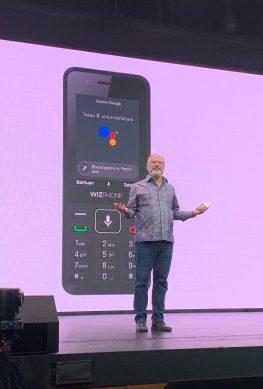 Анонс WizPhone WP006: 4G-телефон с Google Ассистентом за 456 рублей