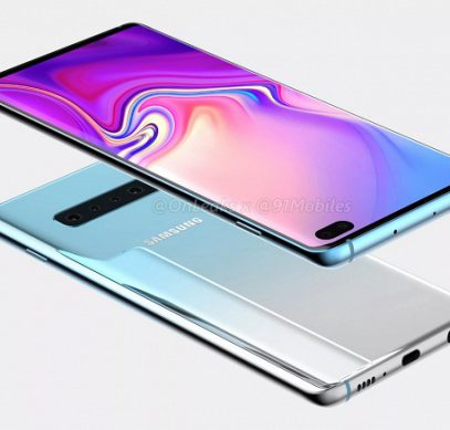 Флагманские смартфоны Samsung Galaxy S10 не разочаруют разрешением экранов