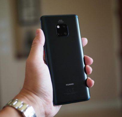 Смартфоны Huawei Mate 20 возглавили рейтинг самых производительных Android-смартфонов