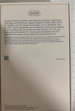 Новые партии iPhone 8 и iPhone 8 Plus лишились переходника на 3,5 мм