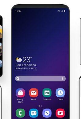 One UI – замена Samsung Experience с упором на комфорт использования
